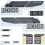 Rock Shox Sektor - Suspensión para Bicicletas, Color Negro, Talla 140 mm
