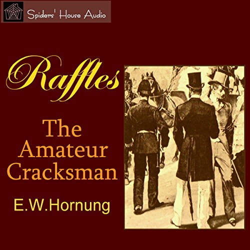 『Raffles: The Amateur Cracksman』のカバーアート