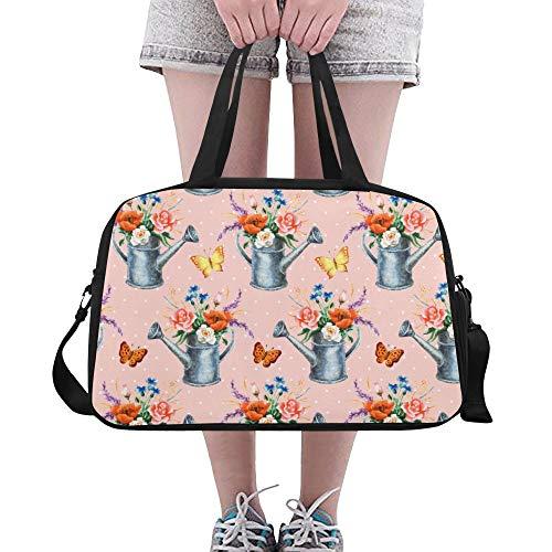 XiexHOME Umhängetasche für Jungen Retro Schönes Werkzeug Spielzeug Gießkanne Yoga Gym Totes Fitness Handtaschen Seesäcke Schuhtasche für Sportgepäck Damen Outdoor Herren Sporttasche