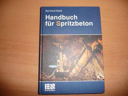 Handbuch für Spritzbeton