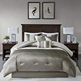 Madison Park Amherst 7 pcs Comforter Set-Natural-Queen