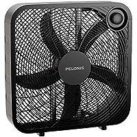 Pelonis PFB50A2ABB-V 3-Speed Box Fan with Air Conditioner