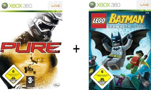 Pure Lego Batman Double Pack (Xbox 360) by Diverse