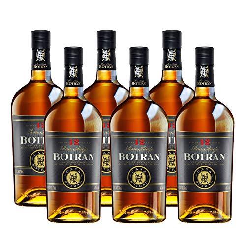 Ron Botran 12 de 70 cl - D.O. Guatemala - Bodegas Gonzalez Byass (Pack de 6 botellas)