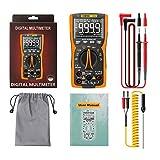 Esing Q10 Multímetro Digital 9999 Cuenta con El Medidor LCR True RMS Analógico DIY Transistor Capacitor NCV Probador Professional Tester