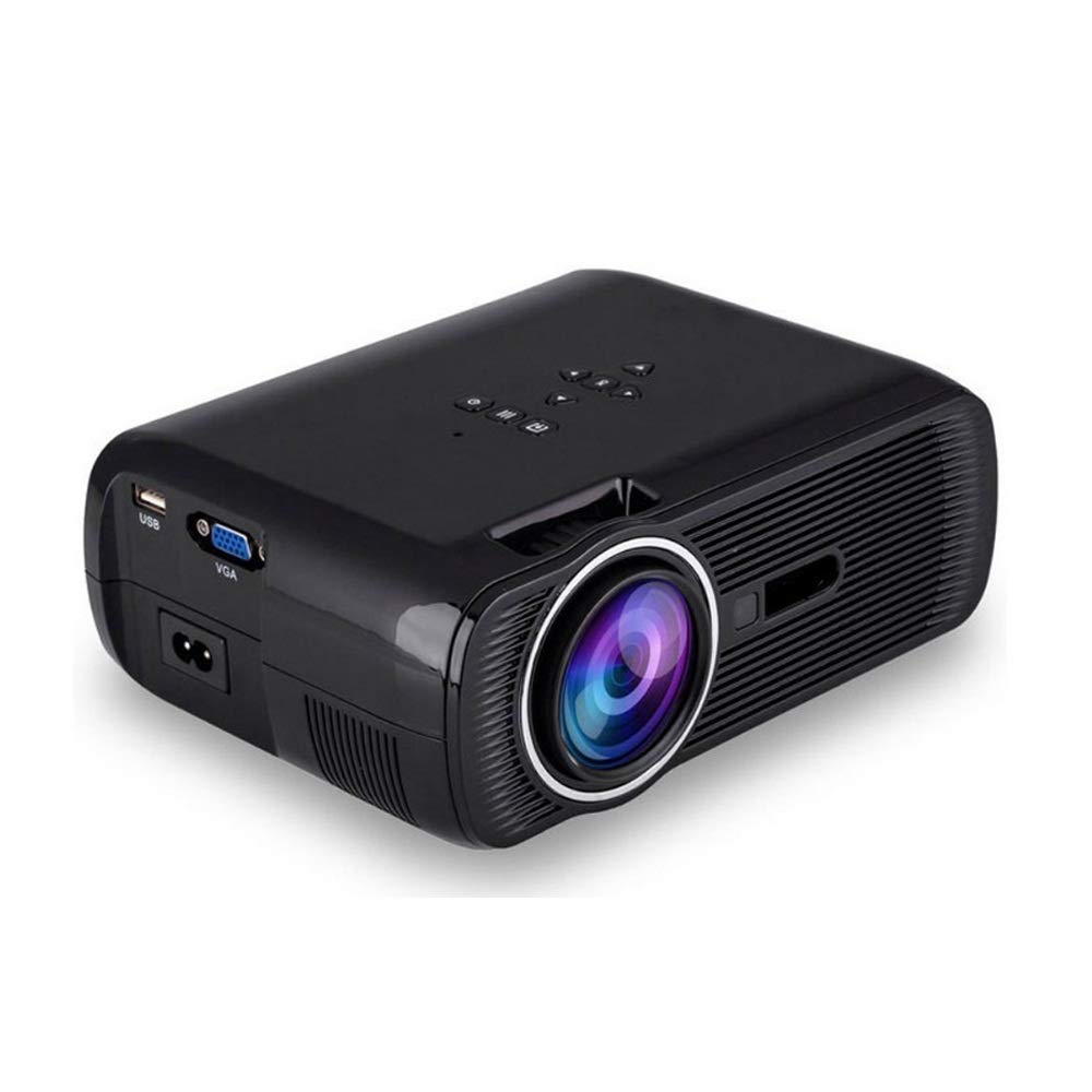 SUPRIEE-HM Proyector portátil Proyector de 2200 lúmenes 800x600P WiFi Smart TV Soporte Full HD 1080p de vídeo 4K Proyector del Teatro casero Mini portátil LED 3D Proyector de Cine en casa: Amazon.es: