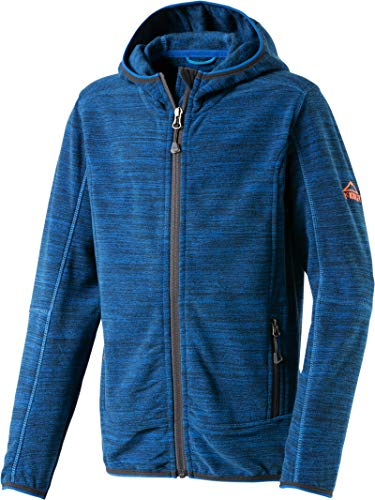 McKINLEY Kinder Choco III Fleecejacke, Melange/Blue Royal, 140