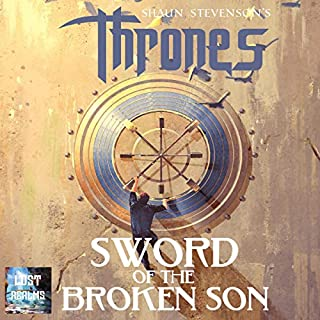 Sword of the Broken Son      Thrones, Book 2              Written by:                                                                                                                                 Shaun Stevenson                               Narrated by:                                                                                                                                 LC Kane                      Length: 10 hrs and 18 mins     Not rated yet     Overall 0.0