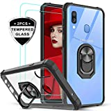 LeYiforSamsung Galaxy A40 Case and Tempered Glass
