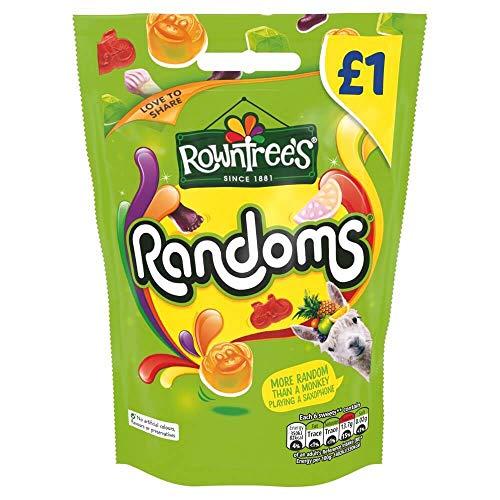 Rowntree's Randoms - 120g Beutel - Fruchtgummi