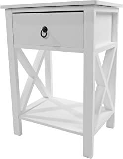 Amazoncom White End Tables Tables Home Kitchen