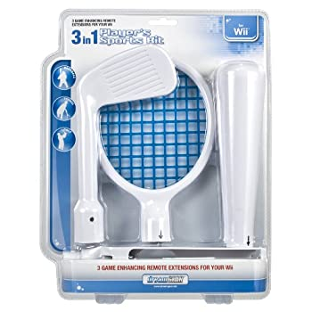3-In-1 Player s Sports Kit - Nintendo Wii