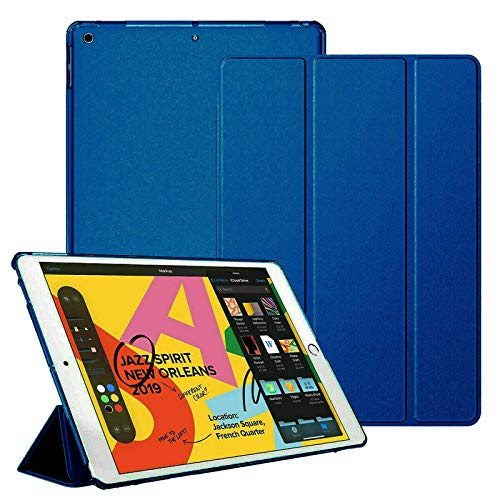 For Apple iPad 4/3/2 (Older generations) Smart Magnetic Stand Case with Automatic Wake/Sleep (Blue)