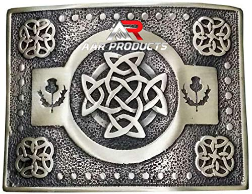 AAR Scottish Kilt Belt Buckle Design Antique Finish
