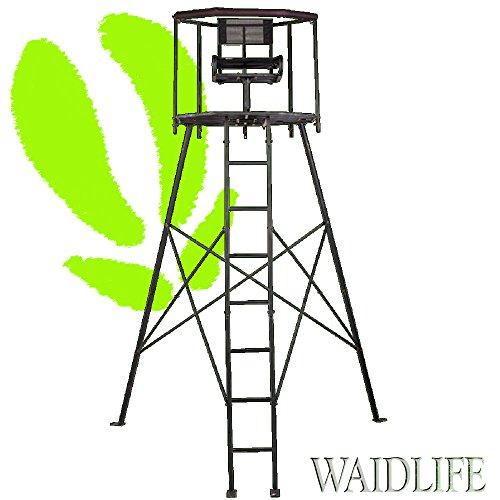 Cacería De Life 360° hochsitz Metal Caza–ANsitz–Escalera de Caza–Caza Púlpito