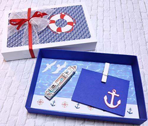 Geldgeschenk Geschenk zur Kreuzfahrt Seereise Schiffsreise