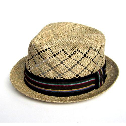 DASMARCA-Collection été-Chapeau tressé en Herbe de mer-Trinidad-M