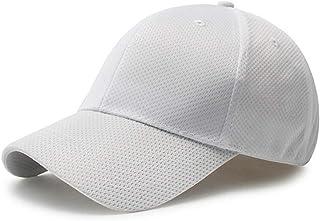 Fasbys - Cappellini da baseball traspiranti, unisex, con profilo medio, regolabili, visiere sportive estive