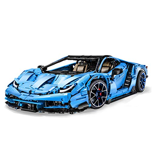 Elroy369Lion Technic Car Centenario LP770-4 Bricks Model, 3842Pcs DIY Building Block Sports Car Model, 1:8 Sport Car Toy for Kids & Adults