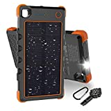 [Quick Charge] 13500mAh Solar Charger, Hobest Portable Charger with...
