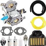 Piezas de repuesto para cortacésped WTA-29 carburador con reemplazo de filtro de aire para Husqvarna 455 455E Rancher 460 461, para la motosierra CS2255 Jonsered, para Zama C1M-EL35 544227401 54431290