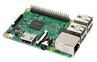 Melopero Raspberry Pi 3 Model B, CPU Quad Core 1,2GHz Broadcom BCM2837 64bit , 1GB RAM, WiFi, Bluetooth BLE, plata (B01CD5VC92) | Amazon price tracker / tracking, Amazon price history charts, Amazon price watches, Amazon price drop alerts