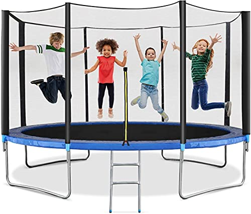 тrampoline 12FT Recreational Bedjump with Enclosure Net - ASTM Approved