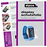 dipos I 6X Schutzfolie klar kompatibel mit Withings Pulse Ox Folie Bildschirmschutzfolie