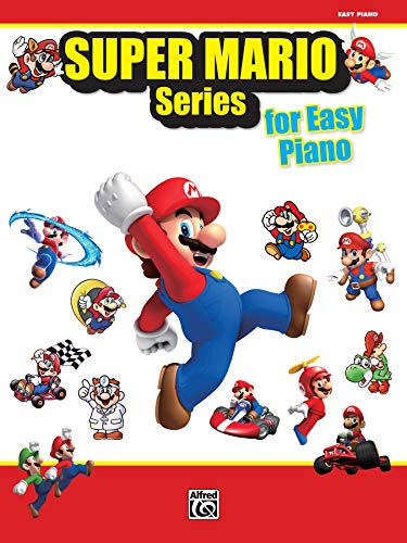 Super Mario™ Series for Easy Piano: 34 Super Mario™ Melodien arranged for Easy Piano