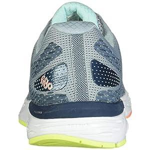 New Balance Women's 680v6 Cushioning Running Shoe, Light Slate/Stone Blue/Bali Blue, 8.5 B US