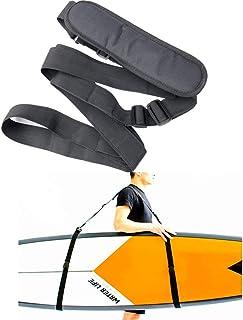 comprar comparacion Happymore - Correa de hombro para tabla de surf y tabla de surf ajustable, arnés para kayak, multiusos, color negro