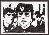 Oasis Poster Liam und Noel Gallagher Plakat Handmade