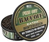 BaccOff, Extra Wintergreen Fine Cut, Premium Tobacco Free, Nicotine Free Snuff Alternative (5 Cans)