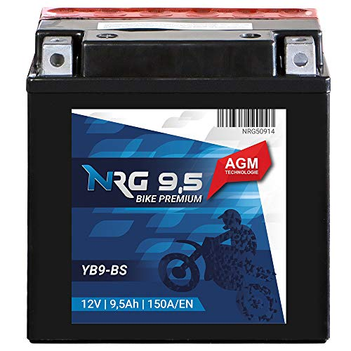 497628/ Rechargeable YB9-B Full of Prime Acid Part by Fiamm Original Piaggio