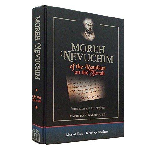 Moreh Nevuchim Of The Rambam On The Torah