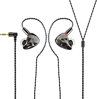 IKKO OH10 in-ear monitor, avtagbar design in-ear hörlur/hörlurar, 10 mm dynamisk enhet + knowles 33518 balanserad enhet du...