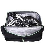 ROCKBROS Faltrad Transporttasche Klapprad Fahrrad für Flugzeug Auto 14 Bis 20 Zoll Bike Travel Bag mit Rucksack
