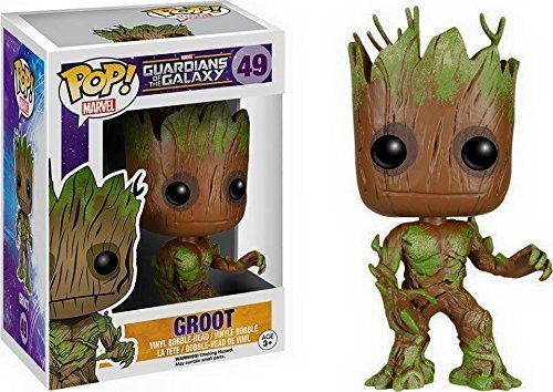 Funko Pop! - Extra Mossy Groot - Guardians of the Galaxy - Australia Exclusive by Generic