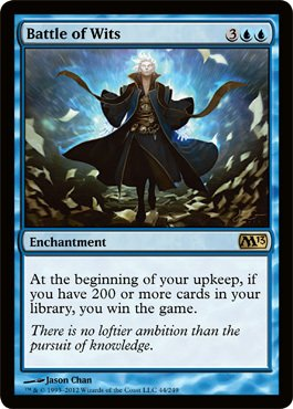 Magic: the Gathering - Battle of Wits (44) - Magic 2013 - Foil