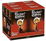 Pocket Coffee espresso - 6 Einzelpackungen á 18 Stück, Kaffee-Praline mit flüssigem Espresso, feine Vollmilch- und Halbbitterschokolade