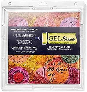 Gel Press GEL10803 Plaque de Gel, Transparent, 30.48 x 30.48 cm