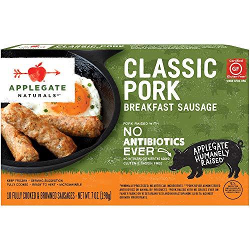 Applegate, Natural Classic Pork Breakfast Sausage, 7oz...