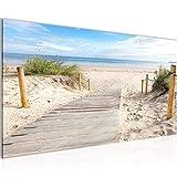 Bilder Strand Meer Wandbild Vlies - Leinwand Bild XXL