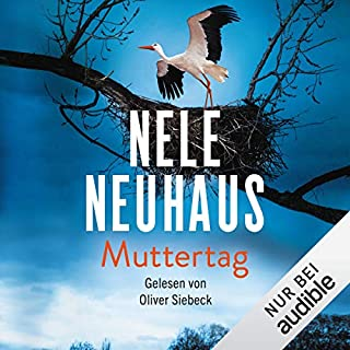 Muttertag     Bodenstein & Kirchhoff 9              By:                                                                                                                                 Nele Neuhaus                               Narrated by:                                                                                                                                 Oliver Siebeck                      Length: 19 hrs and 47 mins     3 ratings     Overall 5.0