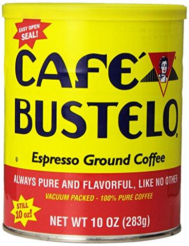Café Bustelo Coffee, Espresso Ground Coffee, 10 Ounces, 4 Count