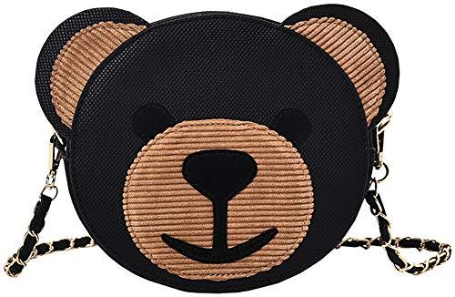 Onfahion dames vrouwen mooie beer shaped meisje schoudertas handtassen schoudertas