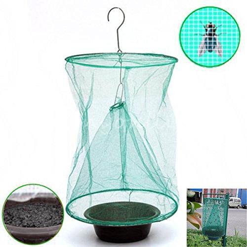 Alexsix Faltbare Küche Fliegen Bug Insekt Pest Net Catcher Cage Falle Mörder Hängenden Taschen Fliegenfallen