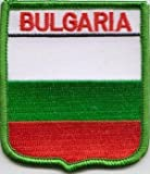 Bulgarien Bulgarian Flagge bestickt Patch Badge