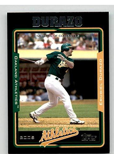 Erubiel Durazo Card 2005 Topps Black #63 - Slabbed Baseball Cards