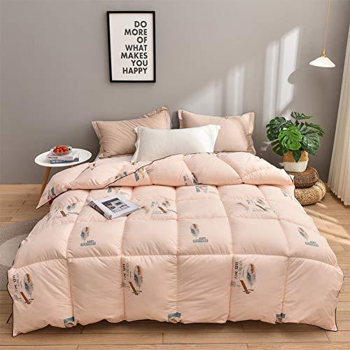 WJYHXW White Goose Down Duvet Premium Hotel Quality Bedding Super Soft Comforter Warm And Cosy Four Seasons Anti Allergy 200 * 230cm,B